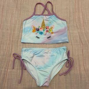 Patty Candy Unicorn Cropped Tank Bikini